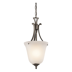 Kichler One Light Olde Bronze Up Pendant