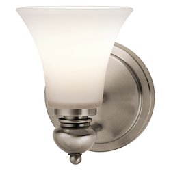 Kichler One Light Classic Pewter Wall Light