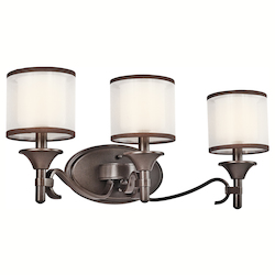 Kichler Three Light Mission Bronze Vanity
