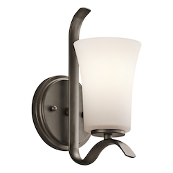 Kichler One Light Olde Bronze Wall Light