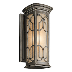 Kichler Open Box Kichler 49227Oz Olde Bronze Franceasi Collection 1 Light 18