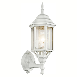 Kichler White 1 Light 17In. Outdoor Wall Light