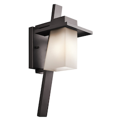 Kichler Open Box Architectural Bronze 1 Light Outdoor Wall Light