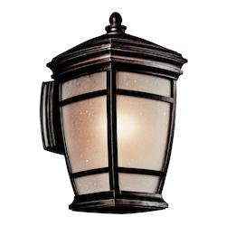 Kichler Rubbed Bronze Mcadams 1 Light 14