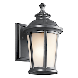 Kichler Black (Painted) Ralston Collection 1 Light 11
