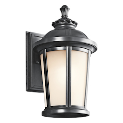Kichler Black (Painted) Ralston Collection 1 Light 14