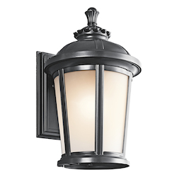 Kichler Black (Painted) Ralston Collection 1 Light 17