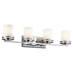Kichler Four Light Chrome Vanity