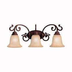 Kichler Carre Bronze Wilton 25In. Wide 3-Bulb Bathroom Lighting Fixture