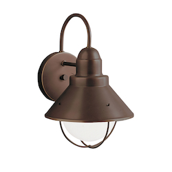 Kichler One Light Olde Bronze Outdoor Wall Light