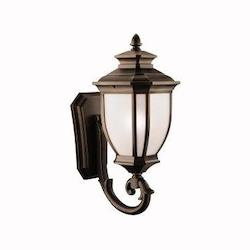 Kichler One Light Rubbed Bronze Wall Lantern