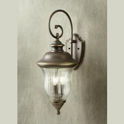 Kichler Olde Bronze Sausalito Collection 3 Light 28In. Outdoor Wall Light