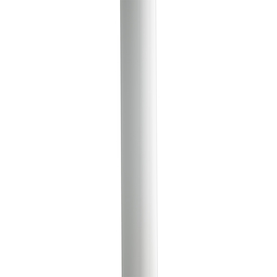 Kichler White Aluminum Post With Ladder Rest
