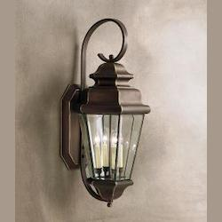 Kichler Olde Bronze Savannah Estates Collection 4 Light 35In. Outdoor Wall Light