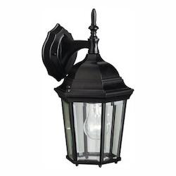 Kichler Kichler 9650Bk Black Madison Collection 1 Light 15