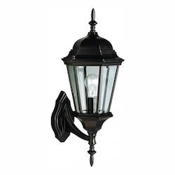 Kichler Black Madison Collection 1 Light 20In. Outdoor Wall Light