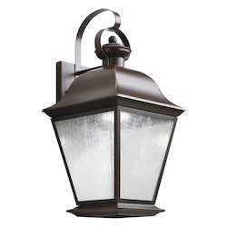 Kichler Olde Bronze Mount Vernon 20In. Energy Efficient Led Outdoor Wall Light