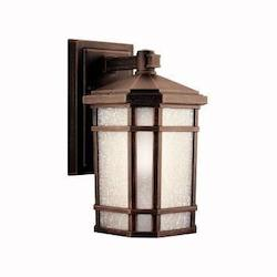 Kichler Prairie Rock Cameron Collection 1 Light 11In. Outdoor Wall Light