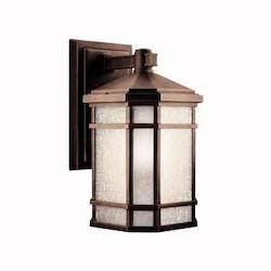 Kichler Prairie Rock Cameron Collection 1 Light 14In. Outdoor Wall Light
