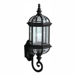Kichler Black Barrie Collection 1 Light 22In. Outdoor Wall Light