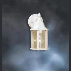 Kichler One Light White Wall Lantern