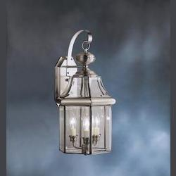 Kichler Antique Pewter Embassy Row Collection 3 Light 21