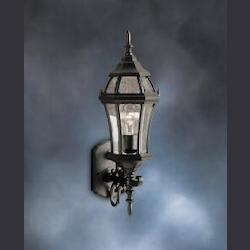 Kichler Black Townhouse Collection 1 Light 22In. Outdoor Wall Light