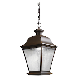 Kichler One Light Olde Bronze Hanging Lantern