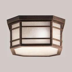 Kichler Prairie Rock 3 Light Ceiling Fixture From The Crosett Collection
