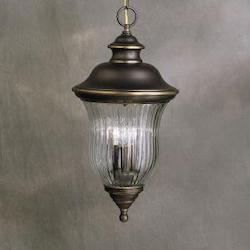 Kichler Olde Bronze 3 Light Outdoor Pendant From The Sausalito Collection