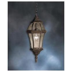 Kichler One Light Tannery Bronze Hanging Lantern