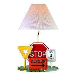 Lite Source Inc. Multi Colored Children Kids Table Lamp From The Kids Collection
