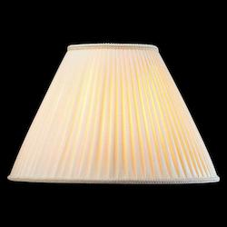 Lite Source Inc. Shantung - Cream Swirl Pleat Empire Height Large Cream Swirl Empire