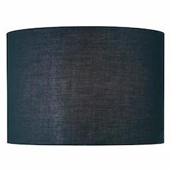 Lite Source Inc. Black Height Large Black Drum Shade