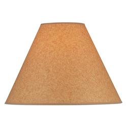 Lite Source Inc. Orange Height Large Orange Kraft Empire Shade