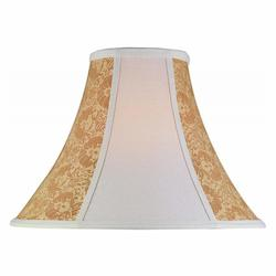 Lite Source Inc. Stone Cream Gold Jacquard 2 Tone Height Large