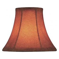 Lite Source Inc. Burnt Height Small Burnt Bell Candelabra Shade