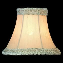 Lite Source Inc. Light Beige Height Small Shantung Light Beige Bell Candelabra