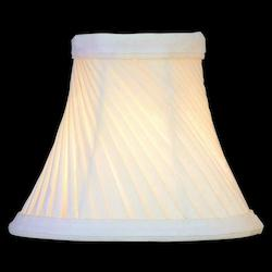 Lite Source Inc. Shantung - Eggshell Swirl Pleat Height Small Eggshell Swirl Bell
