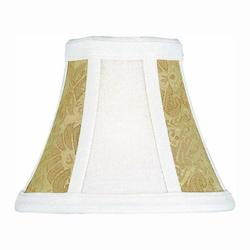 Lite Source Inc. Stone Cream Gold Jacquard 2 Tone Height Small Stone Cream Gold