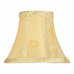 Lite Source Inc. Jacquard - Gold Height Gold Jacquard Bell Candelabra Shade