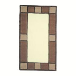 Lite Source Inc. Matching Weave Craftsman Mission Rug From The Prairie Collection