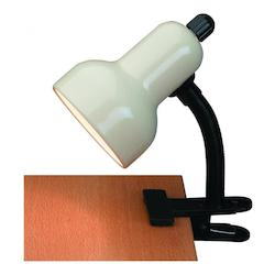 Lite Source Inc. Black Clamp On Lamp From The Clip-On Collection