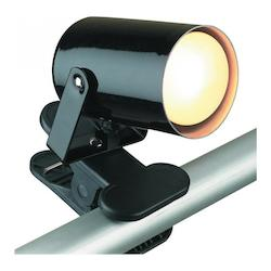 Lite Source Inc. Black Accent Spot Light From The Mini Pin-Up Collection