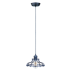 Maxim One Light Bronze Down Pendant