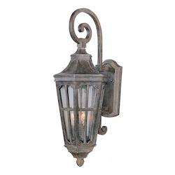 Maxim Two Light Sienna Seedy Glass Wall Lantern