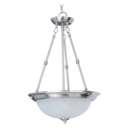 Maxim Essentials 3-Light Invert Bowl Pendant