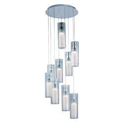ET2 Frost 9-Light Pendant