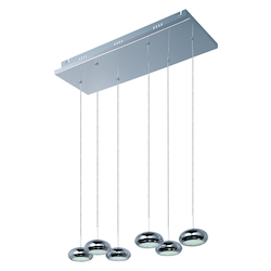 ET2 Dial 6-Light Led Pendant