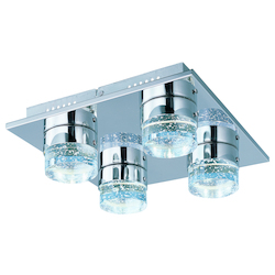 ET2 Fizz Iv 4-Light Led Flush Mount